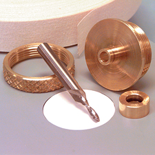 Brass Router Inlay Kit