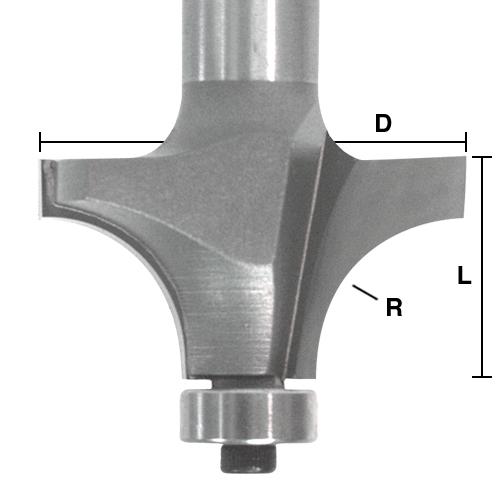 Roundover / Beading Bits