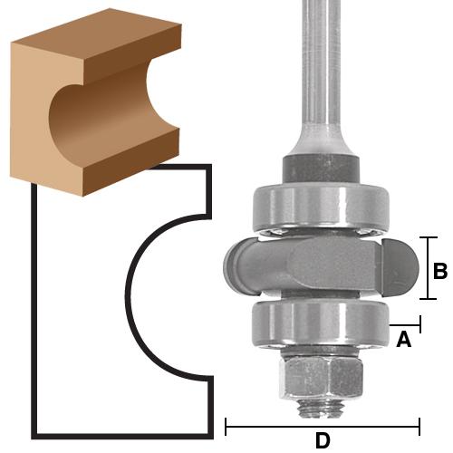 Flute Cutter Assembly Bits