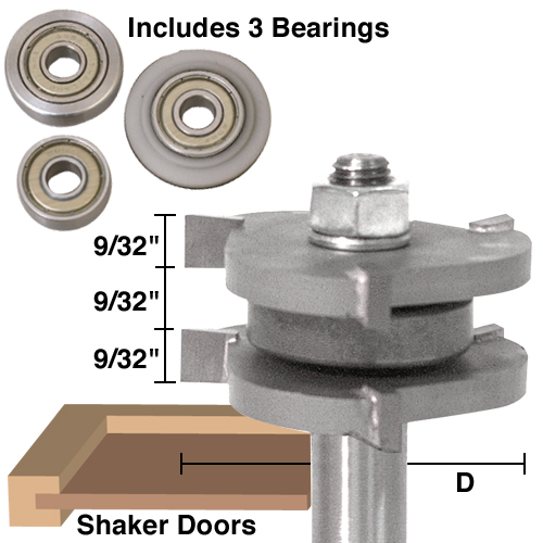 Tongue & Groove & Tenon Assembly