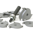 10-Piece Slot Cutter, Dado and Biscuit Set