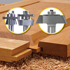 Router Bit Sets 3 Piece Shaker Door Sets