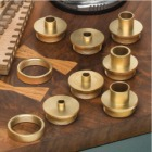 9 Piece Brass Template Guide Set