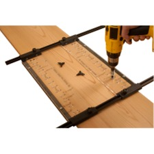 Deluxe Shelf Pin Jig