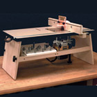 Benchtop Router Table Plans