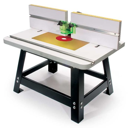 """Heavy Duty"" Bench Top Router Table w/ Aluminum Plate"