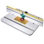 Router Table Top & Fence with Aluminum Plate