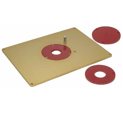 Aluminum Router Plate and Accessories