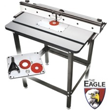 EAGLE Router Table Top and Plate