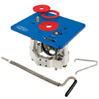 Precision Router Table Lift & Accessories