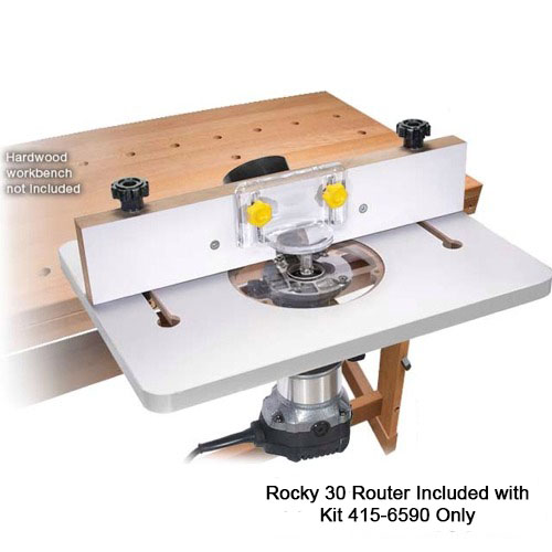 Mini Trim Router Table and Packages