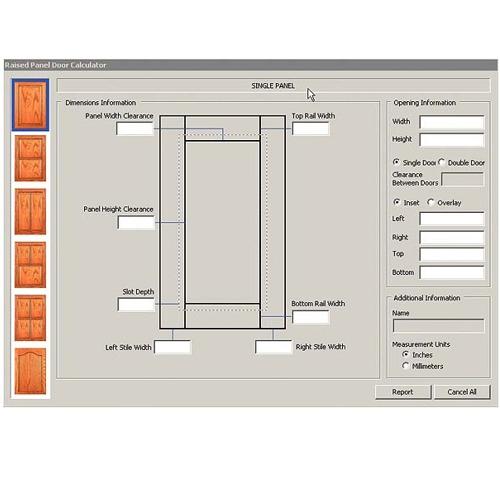 Raised Panel Project Calculator CD