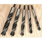 Jumbo Brad Point Drill Bit 5 Pc Set