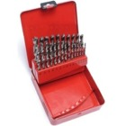 25 Piece HSS Brad Point Drill Bit Set