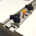 Miter Track Sliding Fixture Block Kit