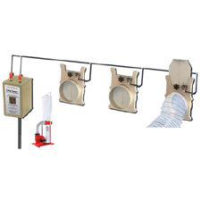Dust Collection Long Ranger Multi Gate Tm Switch System