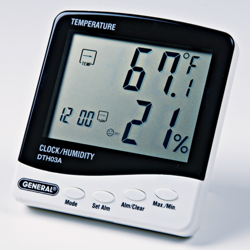 Jumbo Digital Thermo-Hygrometer