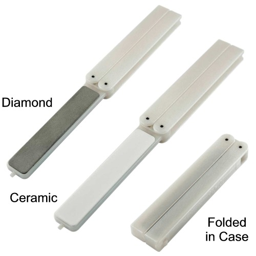 EZE-FOLD Double Sided Ceramic/ Diamond Sharpener