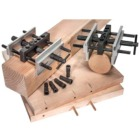 Wide Capacity Self-Centering Dowel Jig & Free Stop Collar Set