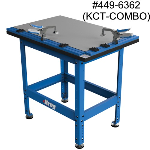 Clamp Table™ and Steel Stand Combo with Automaxx® (KCT-COMBO)