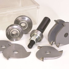 8-Piece Slot Cutter, Dado and Biscuit Set