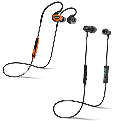 ISOtunes Bluetooth Noise-Isolating Earbuds