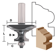 Combination Molding Bit