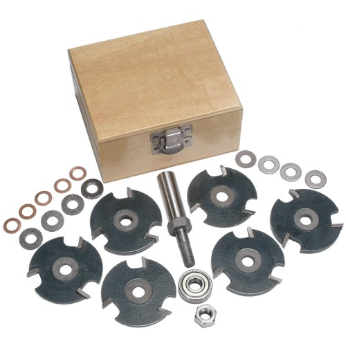 Stackable Slot Cutter Router Bit Set