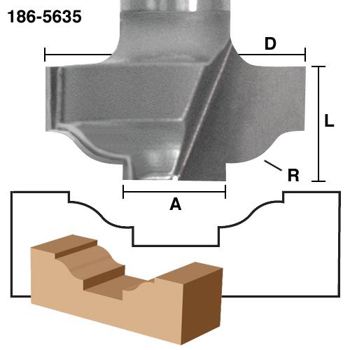 Plunge Panel & Stile Bits
