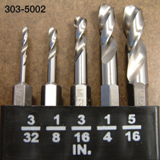 Stubby Drill Bits
