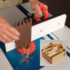 Ultimate Box Joint Jig Accessories