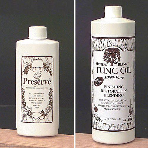 Preserve Wood Oils