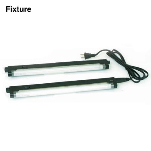 Low-Profile Linkable Fluorescent Lighting