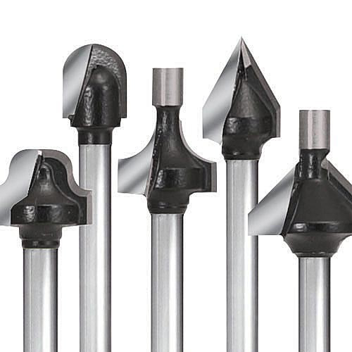 "Miniature 1/8"" Shank Carbide Router Bits"